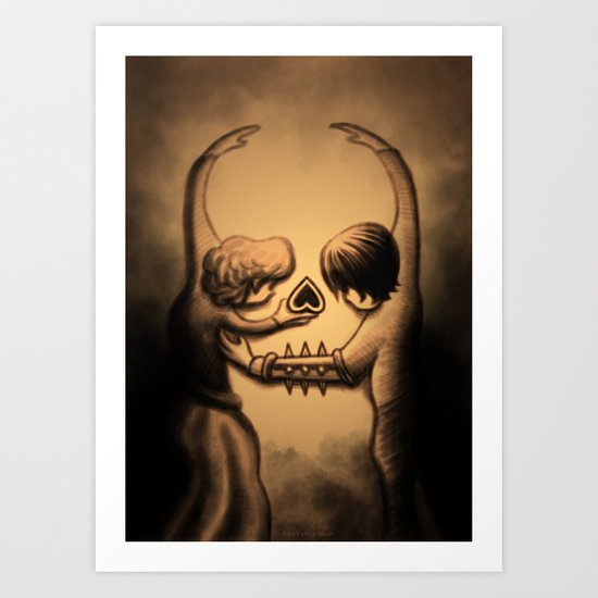 Dance of Death Art Print