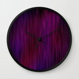 PurpleMotion Wall Clock