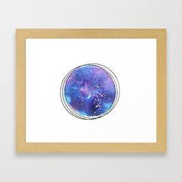 Whole Sky Framed Art Print