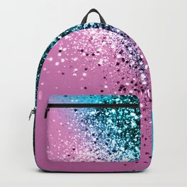 Tropical Beach Lady Glitter #6 #shiny #decor #art #society6 Backpack
