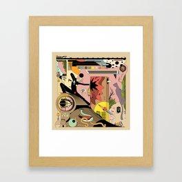 WACK Framed Art Print