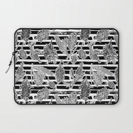 Beautiful Black and White Australiana Print Laptop Sleeve