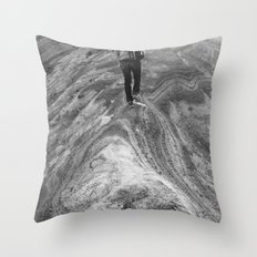Follow Me.  I Know What I'm Doing. Throw Pillow