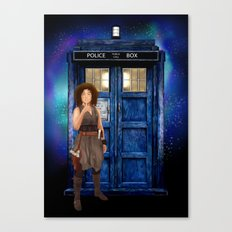 Mrs River Diary Doctor who iPhone, ipod, ipad, pillow case and tshirt Canvas Print