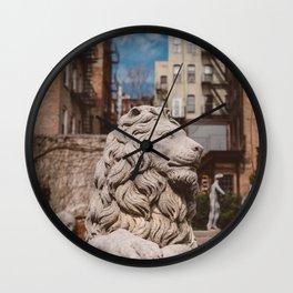 Elizabeth Street Garden III Wall Clock