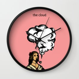 'The cloud' from the RetroTech Series by DaMoJo.co Wall Clock