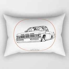 Crazy Car Art 0207 Rectangular Pillow