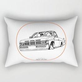 Crazy Car Art 0207 Rectangular Pillow