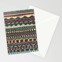 Paint Brush Marks Stationery Cards