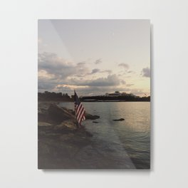 Home of the brave. Metal Print