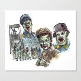 Hogan's Zombies Canvas Print