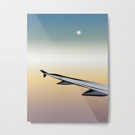 Airplane Views #1 Metal Print