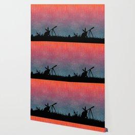 Meteor Shower Wallpaper