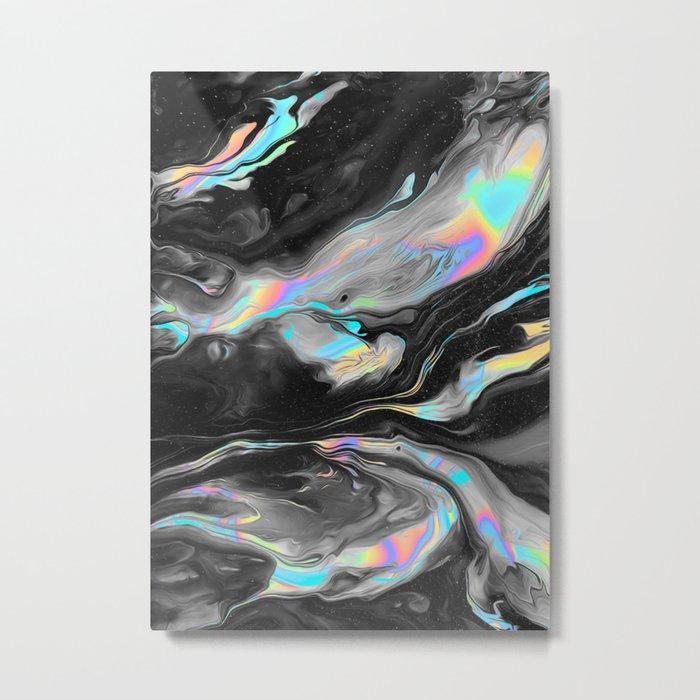 BROKEN + DESERTED Metal Print