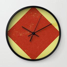 Vintage Nautical Flag Wall Clock