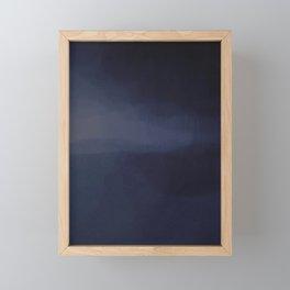 Blue Hour Storm Framed Mini Art Print