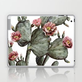 Prickly Pear Cactus Painting Laptop & iPad Skin