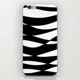 Sea Foam B&W iPhone Skin