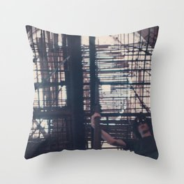 My Father's Travels III Throw Pillow