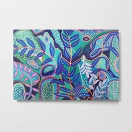 Bluevine Metal Print