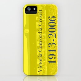 Highbury (Yellow) iPhone Case