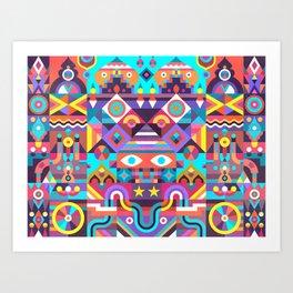 Jackpot Art Print