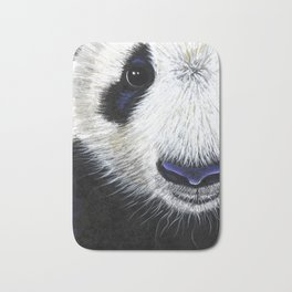 Panda Bear ' PANDA ' by Shirley MacArthur Bath Mat