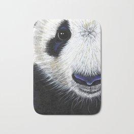 Panda Bear ' PANDA ' by Shirley MacArthur Bath Mat