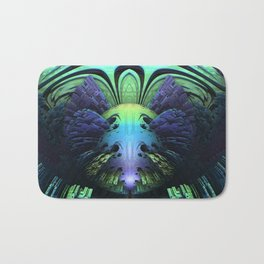 Clowning Around || #society6 #fractal #buy Bath Mat