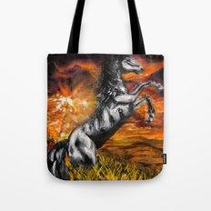 It's always sunny in philadelphia, charlie kelly horse shirt, black stallion Tote Bag