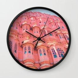 Pink Dream of JAIPUR Wall Clock