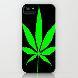 Weed : High times iPhone Case