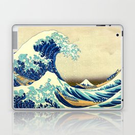 The Great Wave Off Kanagawa Katsushika Hokusai Laptop & iPad Skin
