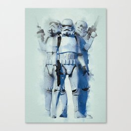 ready to fight stormtrooper? Canvas Print