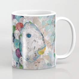 Rainbow Fish Collage Coffee Mug
