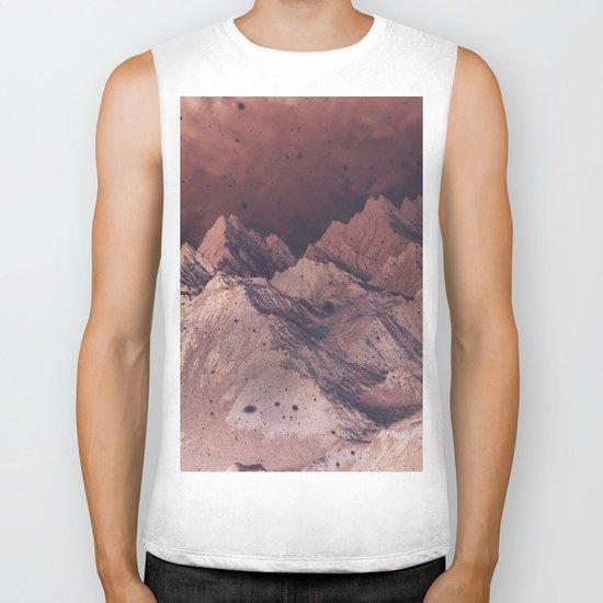 Romantic Mountains Biker Tank