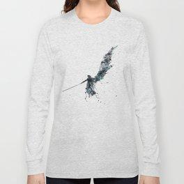 Final Fantasy Watercolor Long Sleeve T-shirt