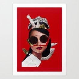the crown Art Print