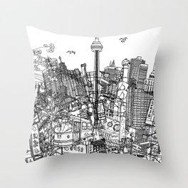 Toronto! (version #2) Throw Pillow