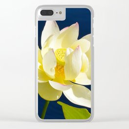 Lotus Flower by Teresa Thompson Clear iPhone Case
