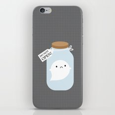 Trapped Little Ghost iPhone & iPod Skin