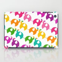ellie goulding iPad Cases featuring Happy Ellie by Piper Plum