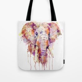 Elephant Head Tote Bag