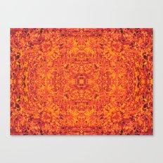 Satan's Carpet Canvas Print