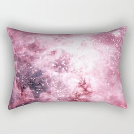 Pink Tarantuala Nebula Core Rectangular Pillow