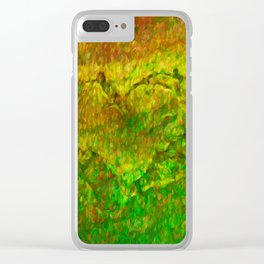 The Heart - Painting by Brian Vegas Clear iPhone Case