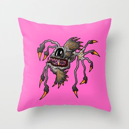 Brutus Angler Spiked Fish in the Pink Throw Pillow