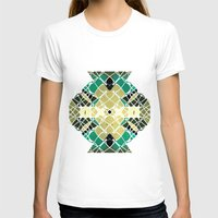 snake T-shirts featuring Snake by SensualPatterns