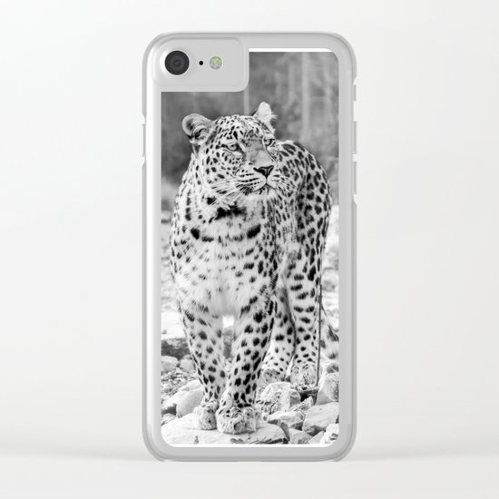 Persian Leopard 2 Clear iPhone Case