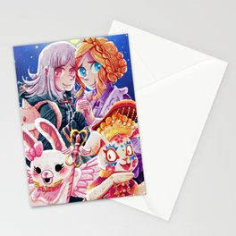 Bunnies on the Moon Stationery Cards